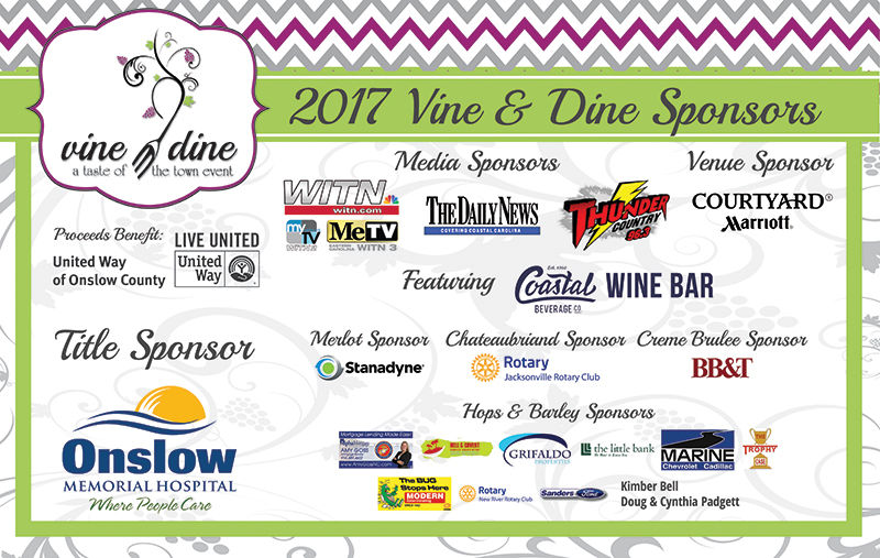 Vine Dine United Way Of Onslow County